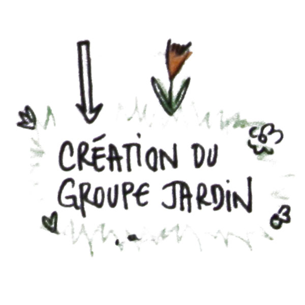 Création du groupe Jardin
