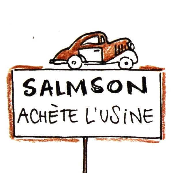 Salmson achète l'usine