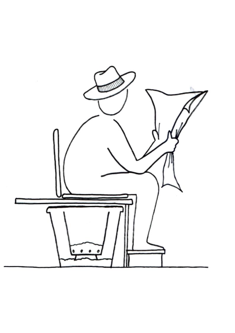 lecture dans les toilettes sèches