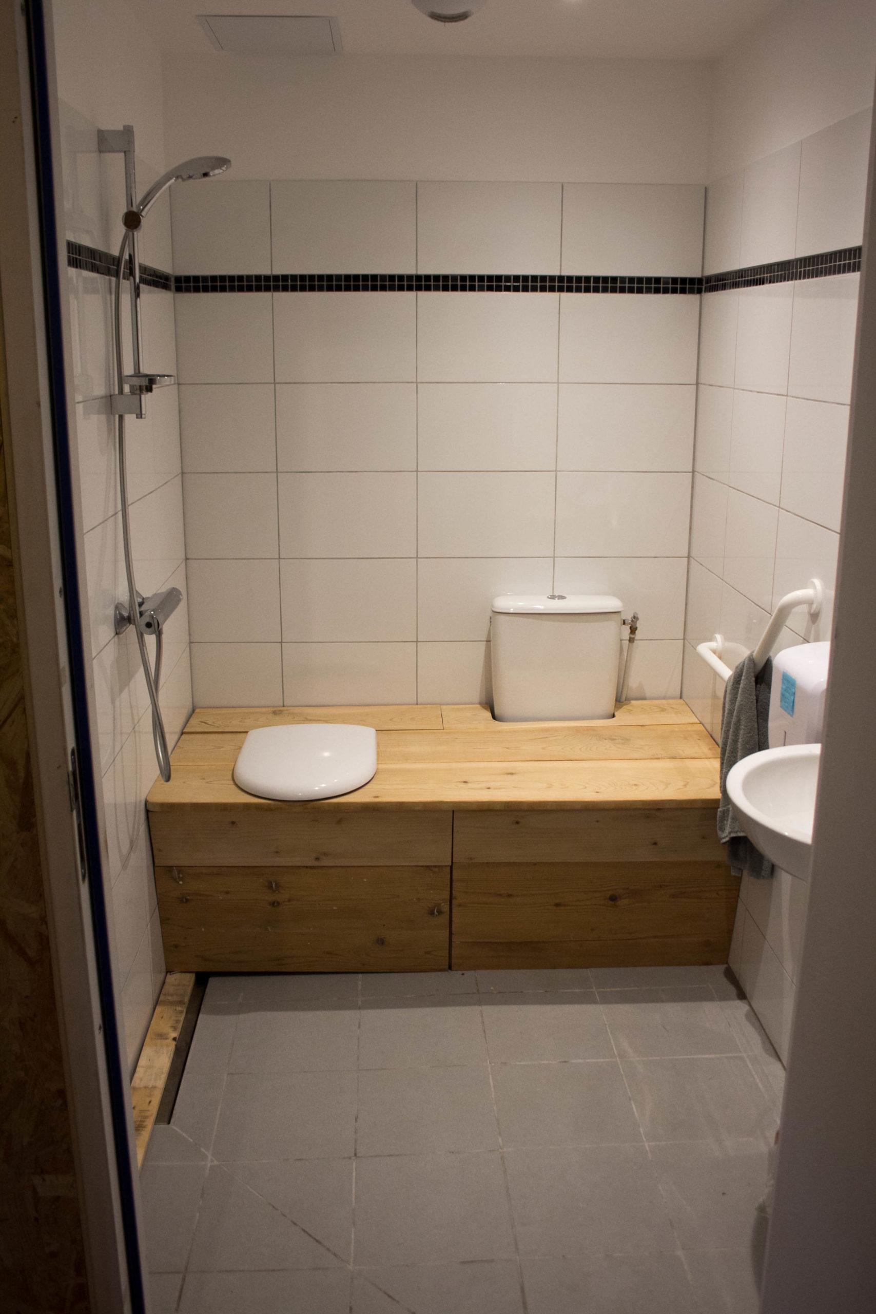 toilettes sèches terminées